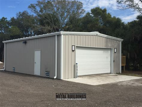 Steel Sheds Florida by Golf Course Metal Maintenance Shop In St Pete