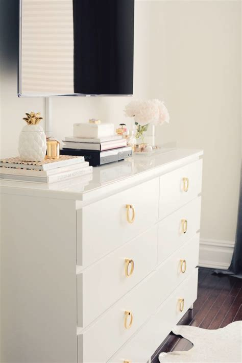 ikea malm hack a super easy ikea dresser hack the pink dream