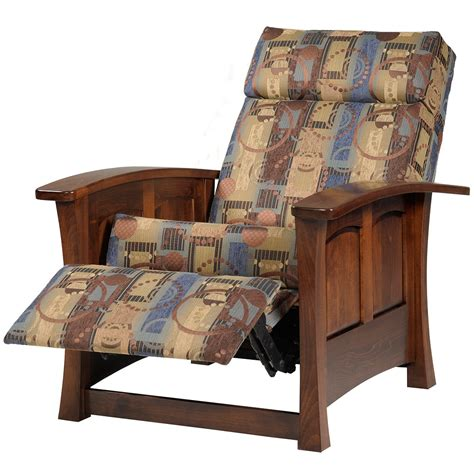 mission style recliner fabric leather recliner armchair upholstery fabric cushion living