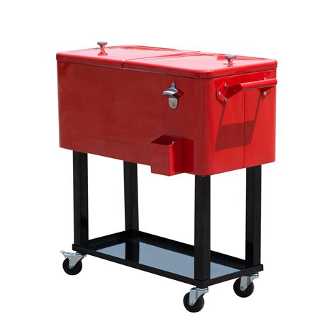 patio patio cooler cart for outdoor party tools ideas