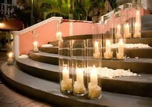 Wholesale Vases Toronto Candles Rose Petals Tall Vase Wedding Ceremony Decor