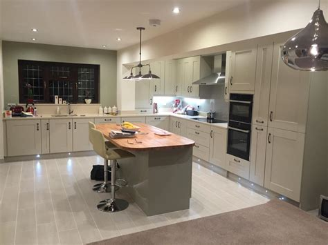 Sage & stone Shaker kitchen   The Gallery, Kingswinford