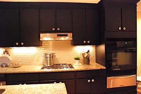 kitchen cabinets painted black painted black kitchen cabinets decor ideasdecor ideas