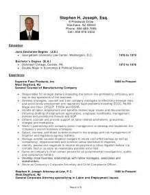Sle Lawyer Resume 28 sle resume for lawyer junior lawyer resume sales
