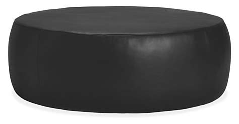 round shaped ottoman coffee table light olive wall color lind modern round leather ottomans footstools in ottoman
