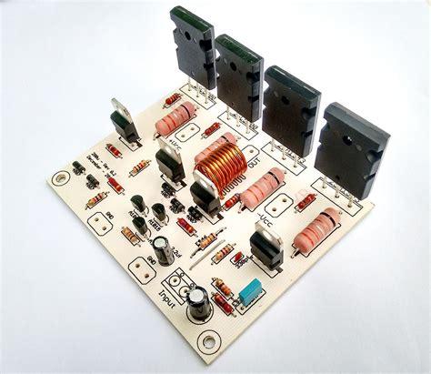 kit placa componentes  montar amplificador  rms