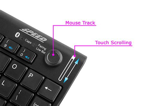 bluetooth keyboard mouse with mini bluetooth keyboard with mouse track