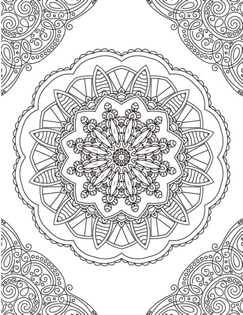 imagenes de mandalas rectangulares 5 mandalas descargables para colorear