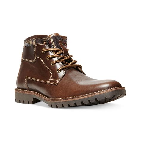 madden boots brown steve madden nickkel boots in brown for brown