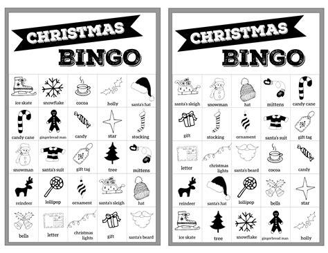 Large Printable Bingo Cards Free