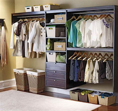 closet systems with basket