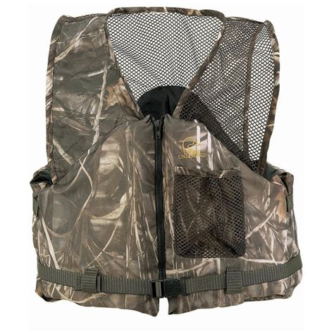 stearns comfort series life vest stearns 174 comfort series ducks unlimited 174 life vest with