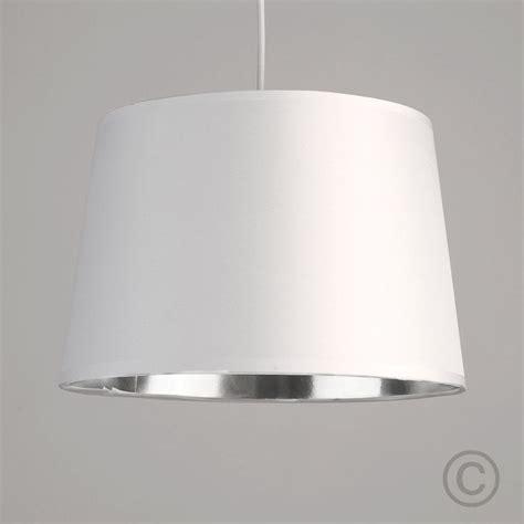Felix Rise And Fall Ceiling Light Details About Modern White Ceiling Light Pendant Shade Metallic Silver Chrome Inside Lshade