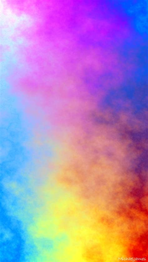 abstract colored smoke tap    awesome apple