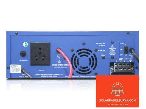 Harga Solar Power Inverter jual luminous solar hybrid sine wave inverter 850va