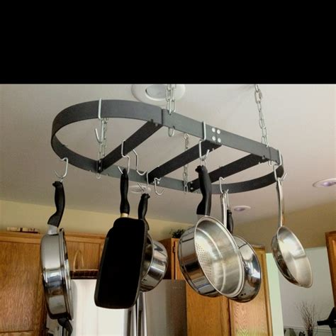 Ceiling Rack For Pots And Pans pots and pans ceiling rack c deco ideas cing