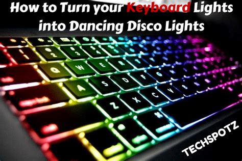 Turn Your Desktop In To A Disco With The Lightwave Color Changing Speakers how to turn your keyboard lights into disco lights
