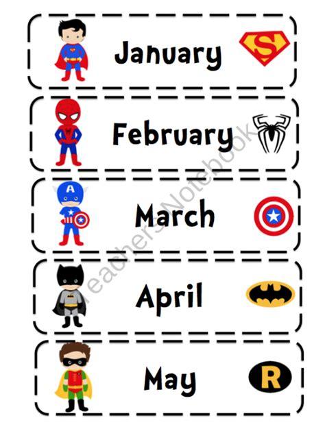 printable superhero number cards june 2013 preschool printables