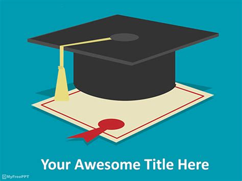 powerpoint templates for kindergarten graduation graduation powerpoint template briski info