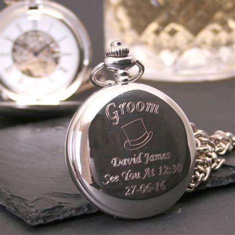 Engraved Wedding Gifts by Engraved Wedding Pocket Gift By Giftsonline4u