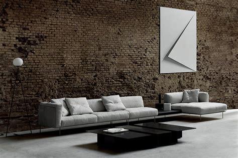arredamento soggiorno moderno design rod system by piero lissoni il divano per arredare il