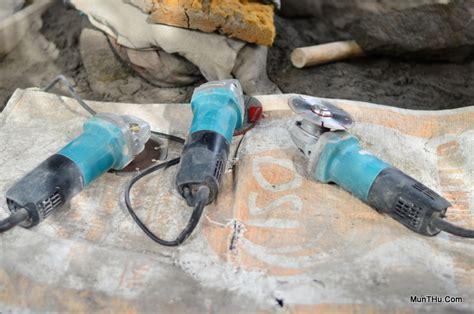Pemotong Batu Ubin Tegel Batu Candi Pemotongan Batu Alam Merapi