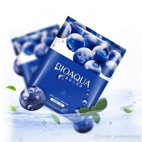 Blueberry Silky Masker Pack Sk7 bioaqua blueberry silk whitening mask for