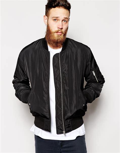 Jaket Inv Bomber Simple Black bomber jacket black fit jacket