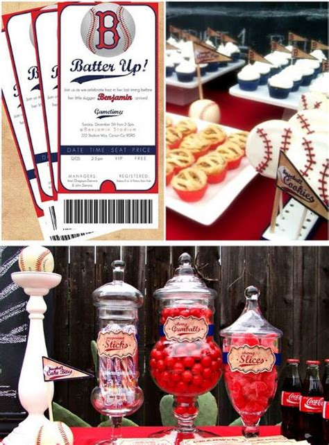 baseball themed birthday party the best sports birthdays 15 party ideas tip junkie