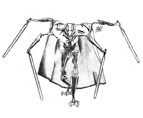 General Grievous Coloring Pages general grievous printable coloring sheet coloring pages