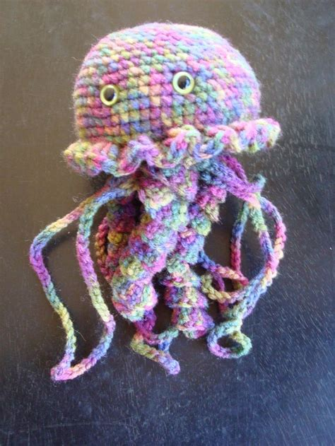 crochet pattern jellyfish 17 beste afbeeldingen over amigurumi jellyfish and octopus