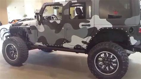 Camo Jeep 100 000 Camo Paint Jeep Wrangler Jk Unlimited W