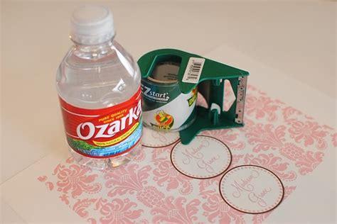diy water bottle label template diy water bottle labels crafts crafts