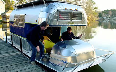Aluminum Boat Floor Plans return of the amphicamper truck camper magazine