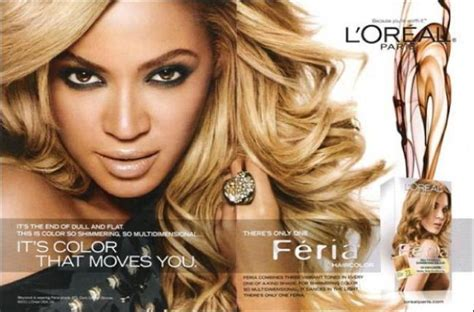 beyonce skin color beyonce s l oreal hair color ad skin