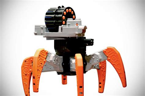 nerf remote control nerf combat creature rc robot mikeshouts