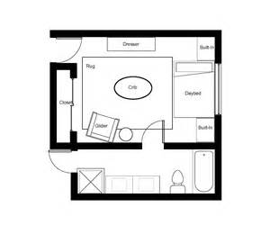 nursery floor plans creating a floor plan design
