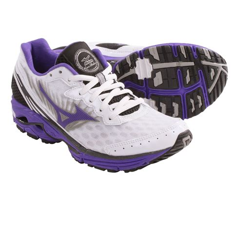 mizuno wave rider womens running shoes mizuno wave rider 16 running shoes for save 30