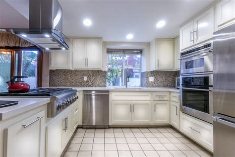 get this look park house with oak kitchen cabinets kitchen remodeling cabinet refinishing oak park ca 91301