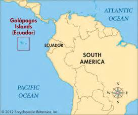 map of south america galapagos islands galapagos islands map