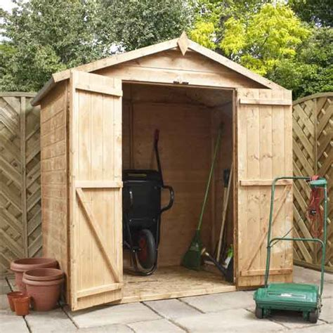 6 By 4 Shed Great Value Sheds Summerhouses Log Cabins Playhouses