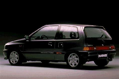 black daihatsu charade gtti turbo 80 s hatches