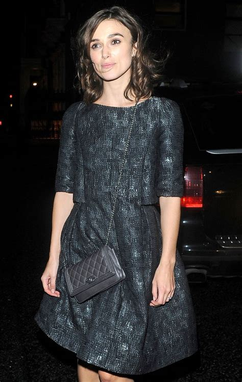 Cocolyn Keira Backpack Black keira knightley and karl lagerfeld at chanel s black jacket event mirror