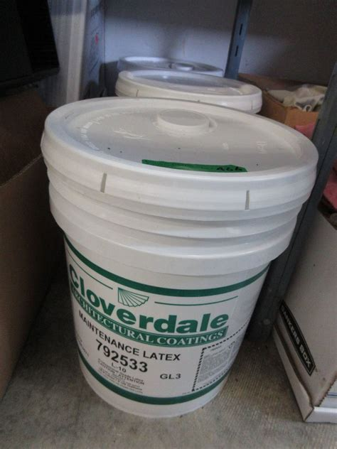 5 gallons interior paint white pearl