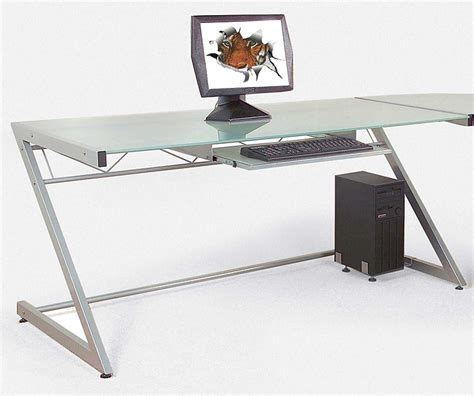 Glass Computer Desk For Sale Glass Computer Desks For Sale Review And Photo