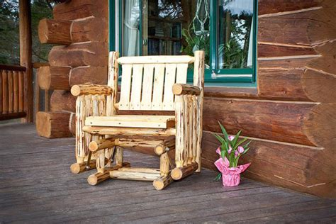 outdoor log furniture rustic log furniture outdoortheme