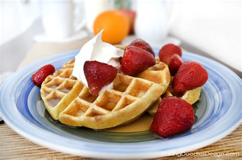 belgian waffles recipe dishmaps