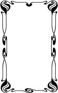 Decorative Page Borders by Decorative Page Border Clipart Etc
