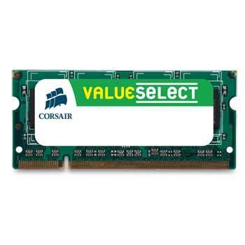 Memory Laptop Ddr2 Corsair corsair memory notebook 1gb ddr2 so dimm pc2 6400 800 single channel laptop ln26791