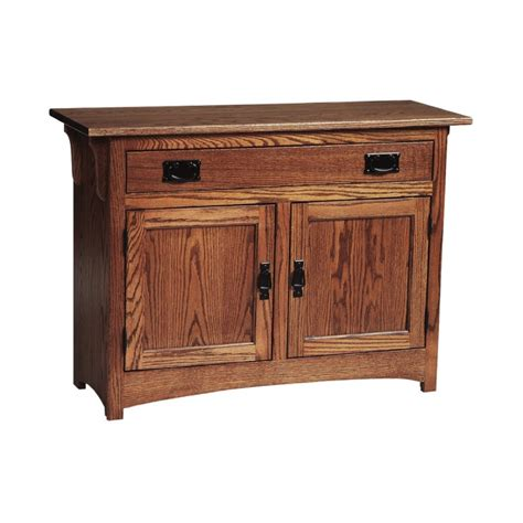 mission cabinet end table amish mission cabinet end